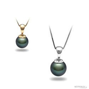 or blanc ou or jaune pour un pendentif de perle de tahiti ?