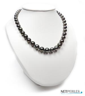 Collier de perles de Tahiti, qualite AAA
