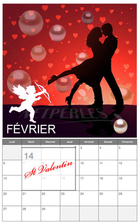 Perles de culture pour la St Valentin idée, NETPERLES