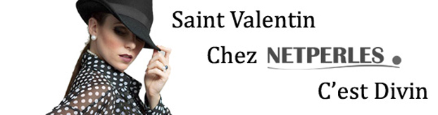 Saint Valentin c'est divin - NETPERLES.COM