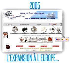 2005 L'EUROPE ET NETPERLES