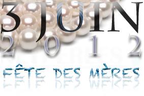 fête des mères 2012, lui offrir un bijou composé de vraies perles