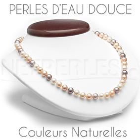 Toutes les couleurs des perles d'EauDouce