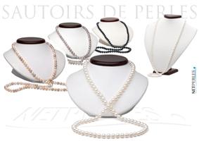 Sautoirs de perles, un bijou multiples très moderne