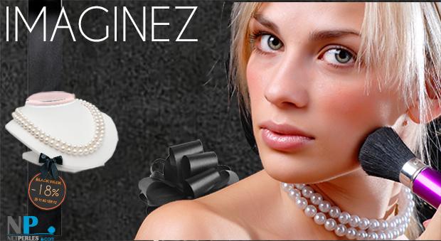 Imaginez c'est deja ressentir le bien que produit un authentique bijou de perles